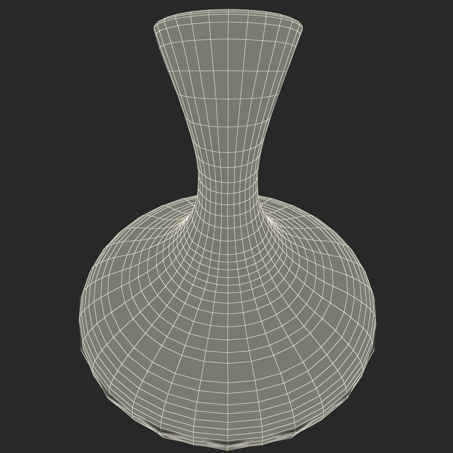 Wine Decanter royalty-free 3d model - Preview no. 16