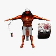 Egyptian Swordsman 3d model