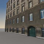 유럽 건물 137 3d model