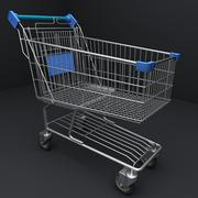 Supermarket Shopping Cart 3d model