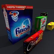 Produkter 3d model