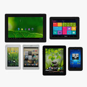 Pakiet tabletów z systemem Android nr 1 3d model