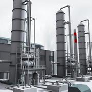 Raffinerie Unité 1 3d model
