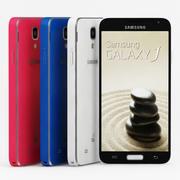 Samsung Galaxy J All 3d model