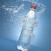 Splash Bottle 3d model