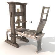 gutenberg press 3d model