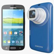 Samsung Galaxy Zoom K Blue 3d model