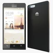 Huawei Ascend P7 Mini / G6 LTE Zwart 3d model