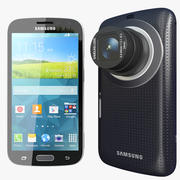 Samsung Galaxy Zoom K Black 3d model