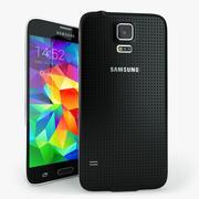 Samsung Galaxy S5ブラック 3d model