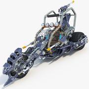 自行车的概念 3d model