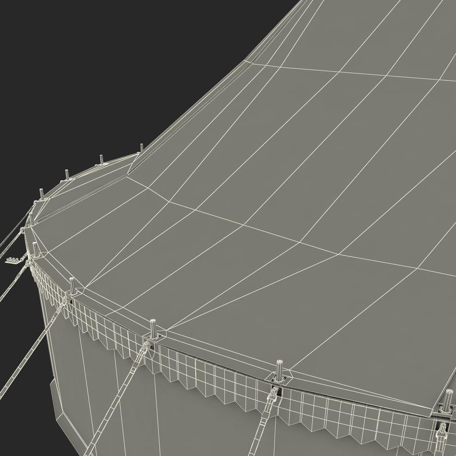 サーカスのテント royalty-free 3d model - Preview no. 21