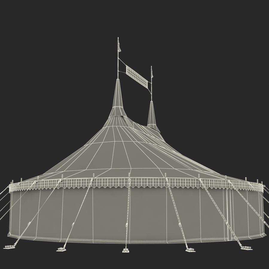サーカスのテント royalty-free 3d model - Preview no. 14