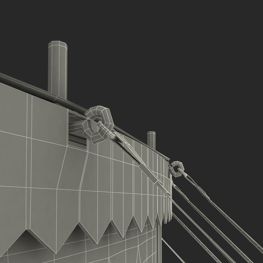 サーカスのテント royalty-free 3d model - Preview no. 19