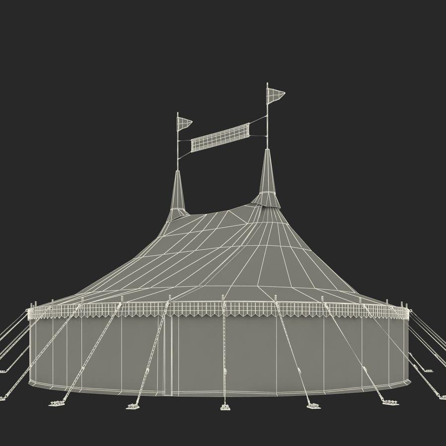サーカスのテント royalty-free 3d model - Preview no. 13