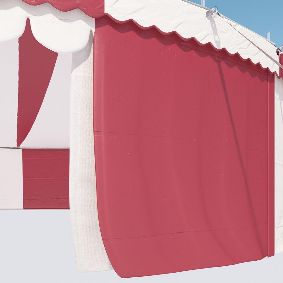 サーカスのテント royalty-free 3d model - Preview no. 7