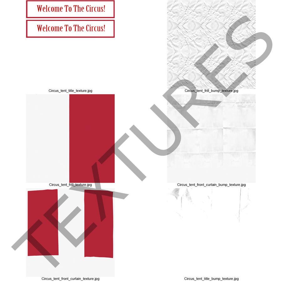 サーカスのテント royalty-free 3d model - Preview no. 24