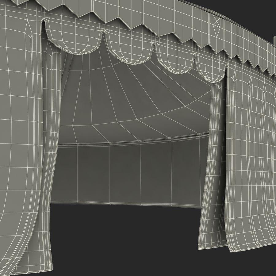 サーカスのテント royalty-free 3d model - Preview no. 17