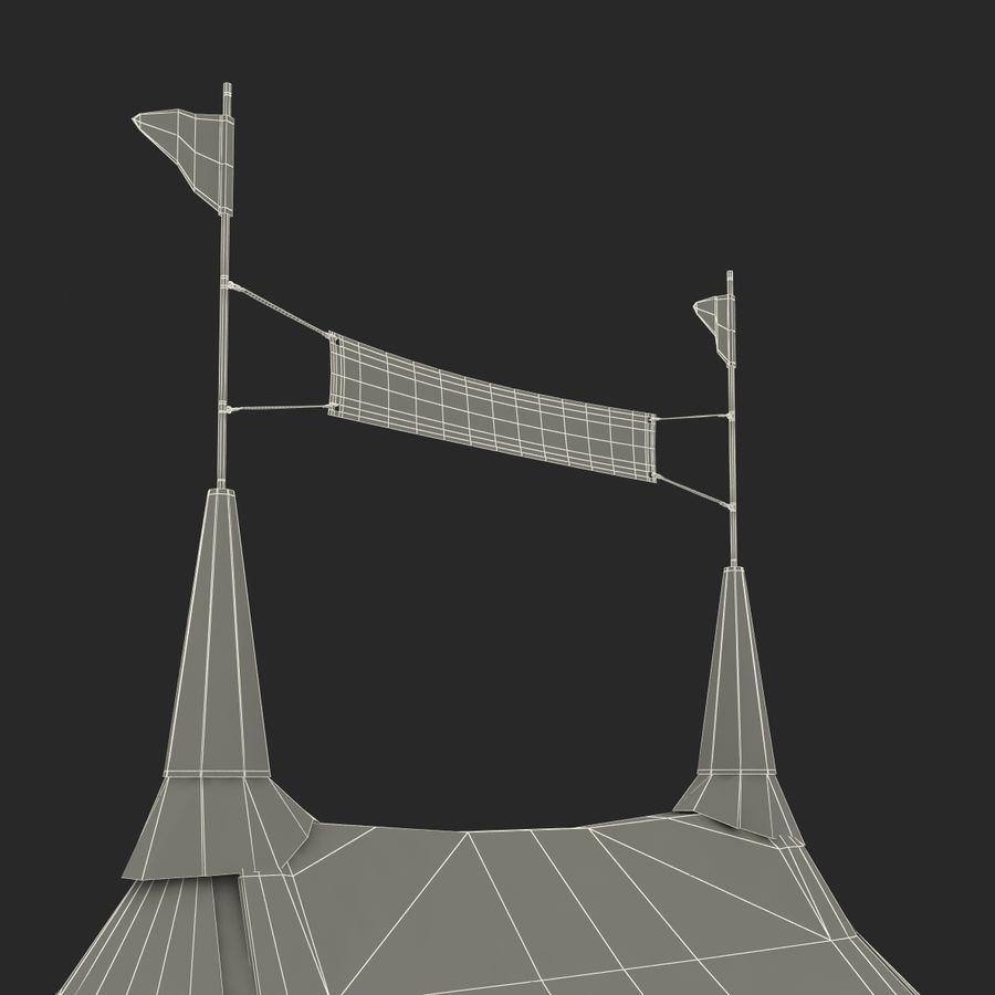サーカスのテント royalty-free 3d model - Preview no. 18