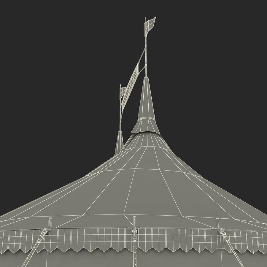 サーカスのテント royalty-free 3d model - Preview no. 15