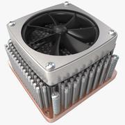 Heatsink Fan 3d model