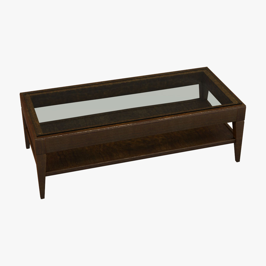 Antique Coffee Table royalty-free 3d model - Preview no. 1