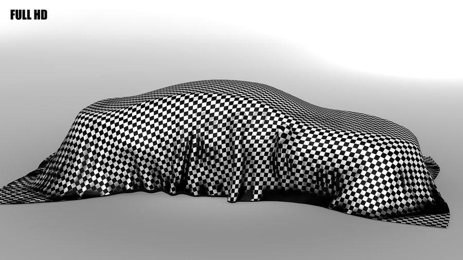 盖车轿车 royalty-free 3d model - Preview no. 4