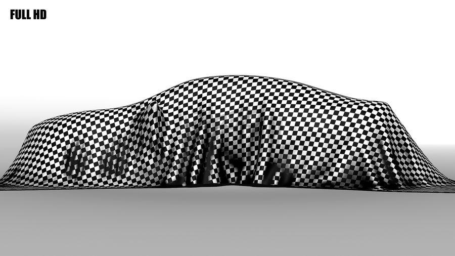 盖车轿车 royalty-free 3d model - Preview no. 7
