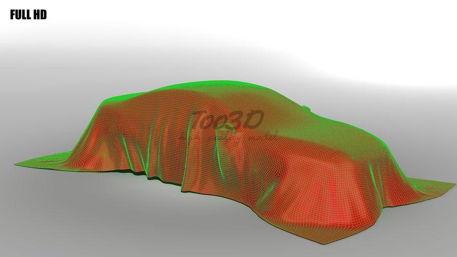 盖车轿车 royalty-free 3d model - Preview no. 10