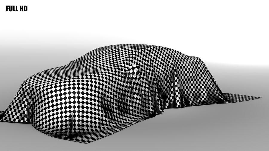 盖车轿车 royalty-free 3d model - Preview no. 3
