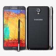 Samsung Galaxy Note 3 Neo & Duos Black 3d model