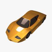 Спортивный Автомобиль 3d model