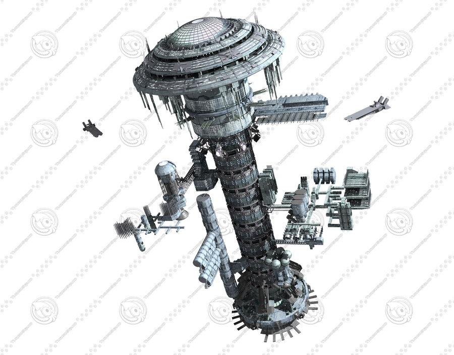 estação Espacial royalty-free 3d model - Preview no. 2