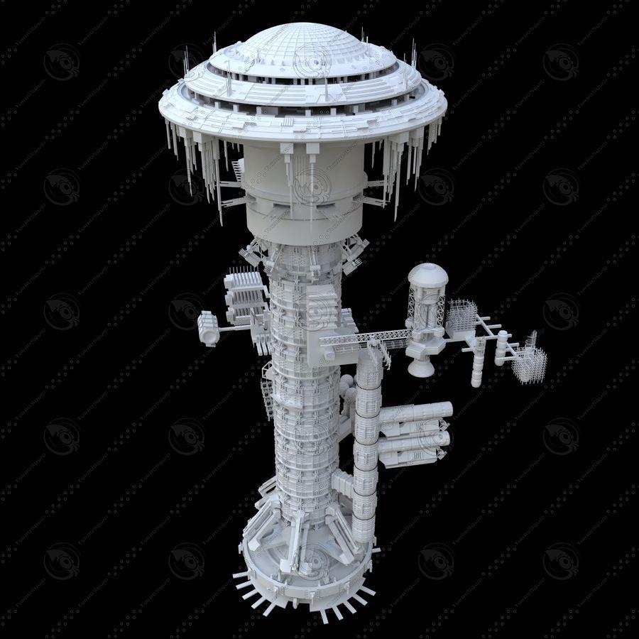 estação Espacial royalty-free 3d model - Preview no. 4