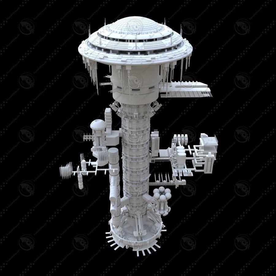 estação Espacial royalty-free 3d model - Preview no. 1