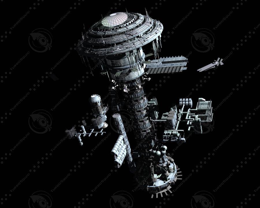 estação Espacial royalty-free 3d model - Preview no. 5