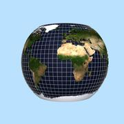 3d Globe Animation MHT-01 3d model