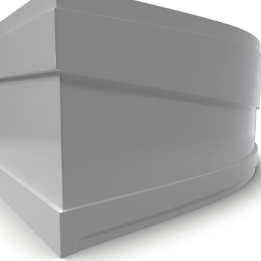 Corner Jacuzzi Bath royalty-free 3d model - Preview no. 10