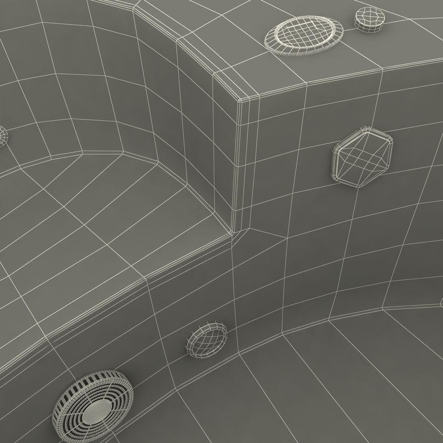 Corner Jacuzzi Bath royalty-free 3d model - Preview no. 28