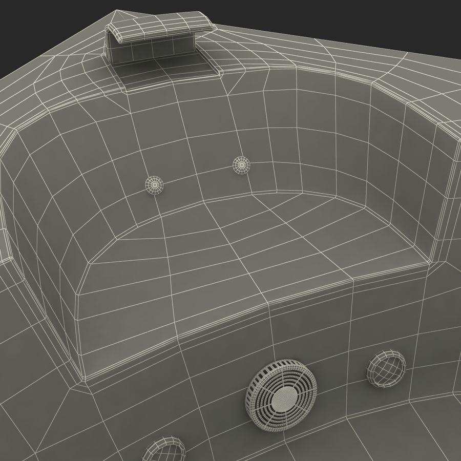 Corner Jacuzzi Bath royalty-free 3d model - Preview no. 31