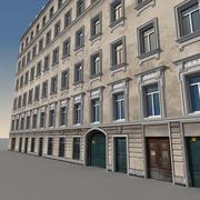European Building 020 3d model