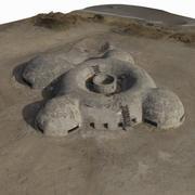 Bunker Scan Tatooine 3d model