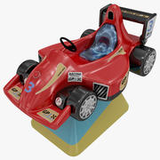 Kids Coin Operated Car Ride 3d model