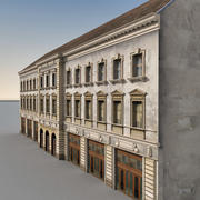European Building 058 3d model