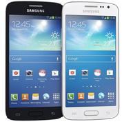 Samsung Galaxy Core Lte zwart en wit 3d model
