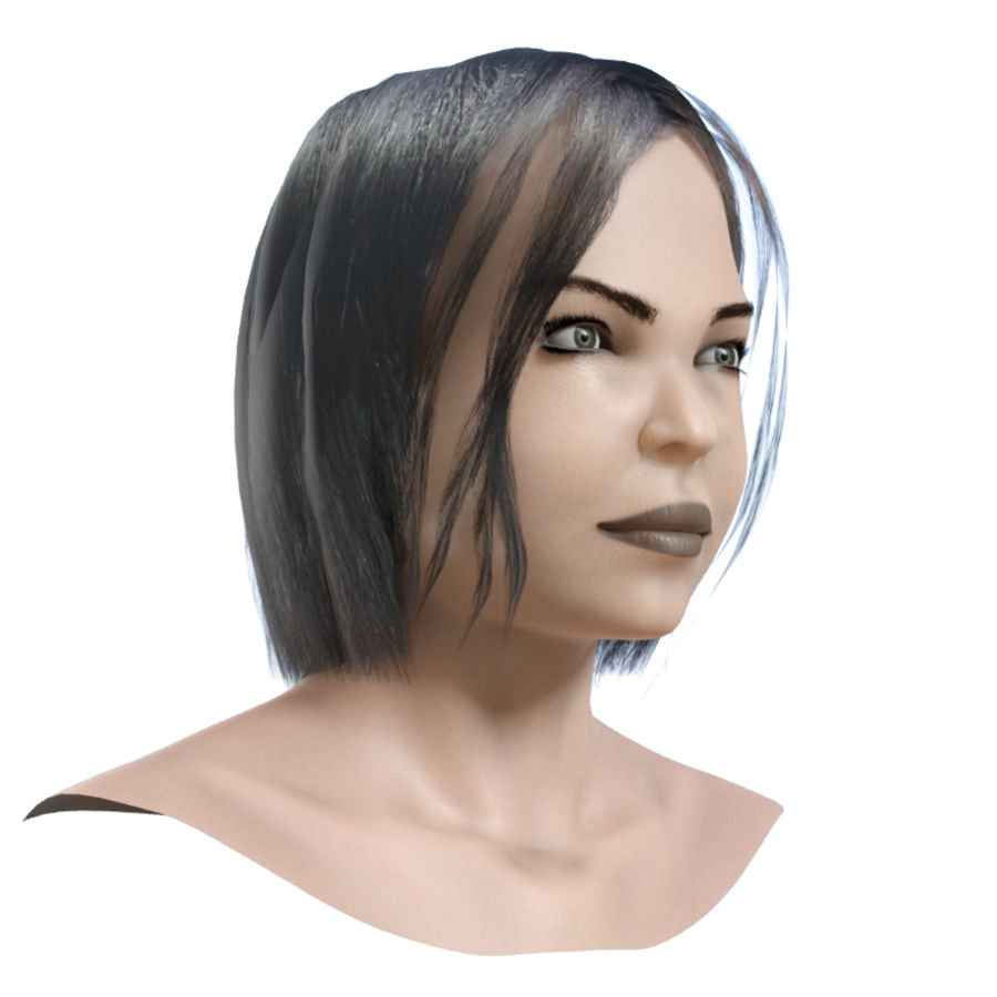 Head 4 royalty-free 3d model - Preview no. 4
