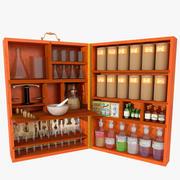 Portable Chemist Box 3d model