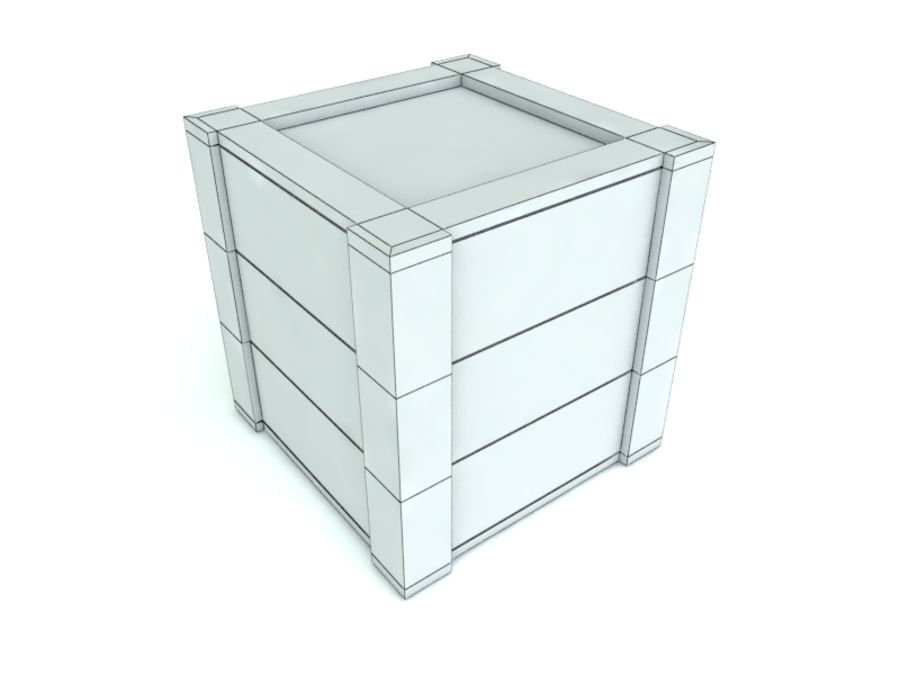 Boîte de collecte royalty-free 3d model - Preview no. 16