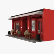 Restauracja Paris 12 3d model
