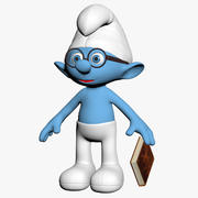Smurf Brainy 3d model